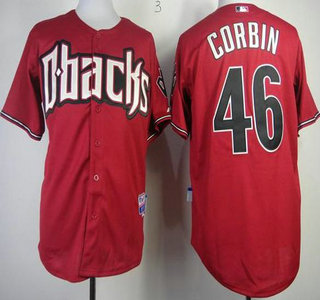 1ce463f3 Arizona Diamondbacks #46 Patrick Corbin Red Cool Base Jersey