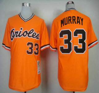 b70dc5804 ... digjersey mlb jerseys baltimore orioles baltimore orioles 33 eddie  murray 1982 orange mitchell ness throwback jersey