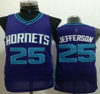 Charlotte Hornets  25 Al Jefferson Purple Revolution 30 Authentic Jersey fc8bc37d4