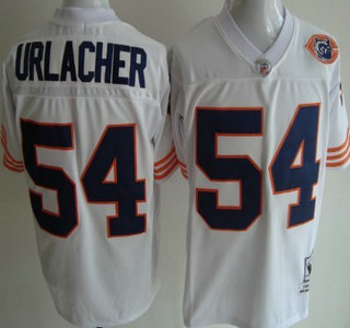 premium selection f4ee1 b9454 Chicago Bears #72 William Perry White Throwback With Bear ...