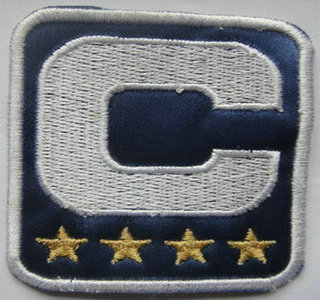 Chicago Bears Captain Blue C Patch