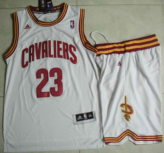 competitive price 10ca0 3e924 Cleveland Cavaliers #23 LeBron James White Revolution 30 ...