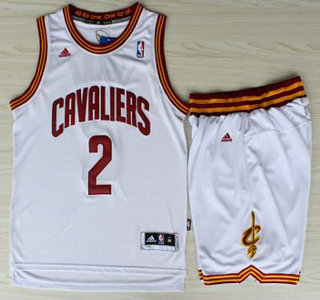 watch 11844 7596c Cleveland Cavaliers 2 Kyrie Irving White Revolution 30 ...