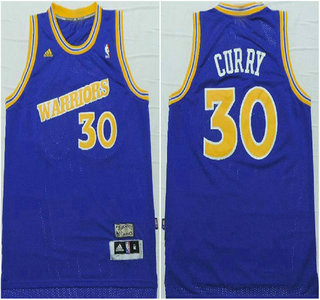 sports shoes 69e5b edfd8 Golden State Warriors #30 Stephen Curry Hardwood Classic ...