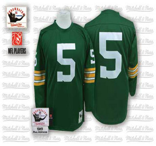 cheap for discount 323ae 08200 green bay packers 15 bart starr white long sleeved throwback ...