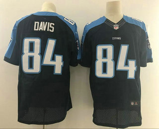 Men's 2017 NFL Draft Tennessee Titans #84 Corey Davis White Road  free shipping