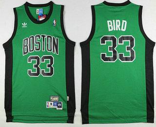 cheap for discount c6923 2da93 boston celtics 33 larry bird green with black swingman ...