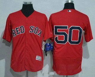 6ff3e78818c Men s Boston Red Sox  50 Mookie Betts No Name Red 2016 Flexbase Baseball  Jersey