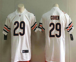 wholesale dealer 2d2a6 18054 Men's Chicago Bears #29 Tarik Cohen White 2017 Vapor ...