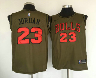 separation shoes 9313c 88b4b Men's Chicago Bulls #23 Michael Jordan White 2017-18 Nike ...