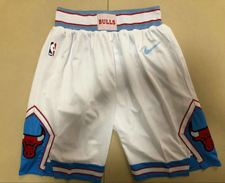 pretty nice 58b81 2b667 Men's Chicago Bulls White 2018 Nike City Edition Swingman Shorts