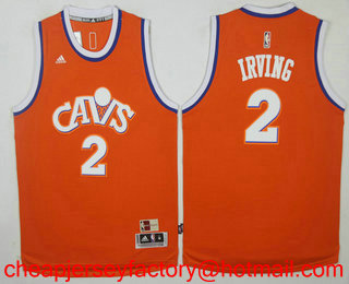 big sale f3f7d 21224 Men's Cleveland Cavaliers #2 Kyrie Irving CavFanatic New ...