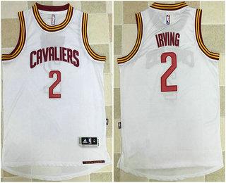 size 40 7c30e 4c3da Men's Cleveland Cavaliers #2 Kyrie Irving White AU Soul ...