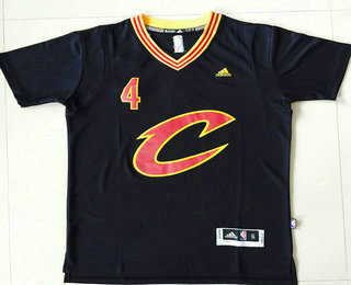 Men s Cleveland Cavaliers  4 Iman Shumpert Revolution 30 Swingman 2015-16  New Navy Blue 4e08b3479
