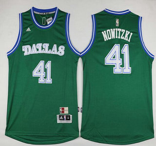 c06920227 ... coupon code for mens dallas mavericks 41 dirk nowitzki revolution 30  swingman 2015 16 green jersey