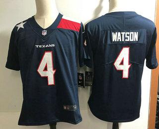 Nice Men's Houston Texans #4 Deshaun Watson Navy Blue 2018 Vapor  free shipping