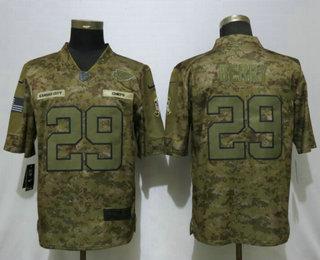 23de2331213 Men s Kansas City Chiefs  29 Eric Berry 2018 Camo Salute to Service  Stitched NFL Nike