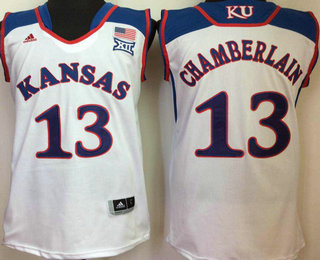size 40 8fec5 cab14 Men's Kansas Jayhawks #13 Wilt Chamberlain Royal Blue ...