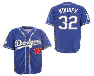 3c04fa0b8 Men's Los Angeles Dodgers #32 Sandy Koufax 2017 Blue Fashion Stitched MLB Cool  Base Jersey