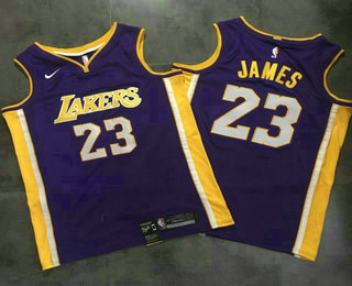 detailed look 1bf13 c61d8 Men's Los Angeles Lakers #23 LeBron James MPLS Blue Hardwood ...
