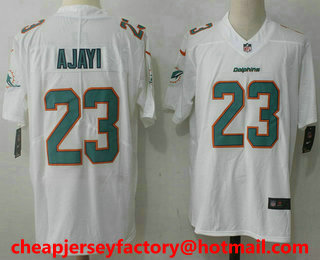 5f3d0dc18 ... shopping mens miami dolphins 23 jay ajayi white 2017 vapor untouchable  stitched nfl nike limited jersey