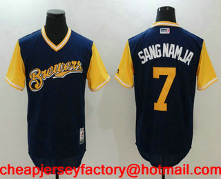 62b41c680 ... new style 21 travis shaw navy blue brewers stitched mlb majestic cool  base jersey 20.