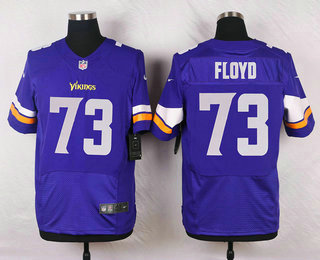 Wholesale Men's Minnesota Vikings #14 Stefon Diggs Purple Team Color NFL Nike