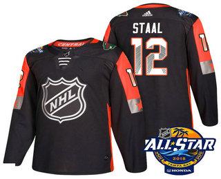 new products b97b7 93a02 Men's Minnesota Wild #12 Eric Staal Black 2018 NHL All-Star ...