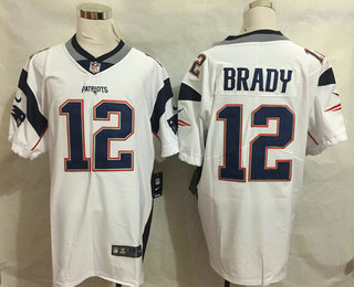 Nice Men's New England Patriots #12 Tom Brady White 2017 Vapor  supplier