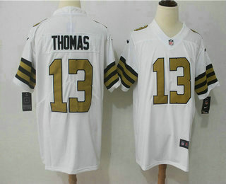 Men s New Orleans Saints  13 Michael Thomas White 2016 Color Rush Stitched  NFL Nike Limited Jersey ec907ae4d