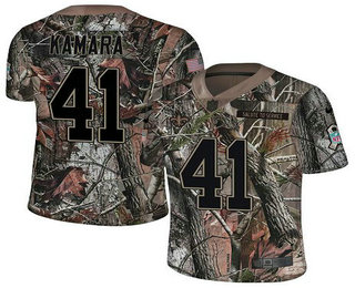 Men s New Orleans Saints  41 Alvin Kamara Camo Stitched NFL Rush Realtree  Nike Limited Jersey 015267573