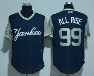 mens new york yankees 99 aaron judge all rise navy 2017 little league world series players weekend stitched nickname jersey