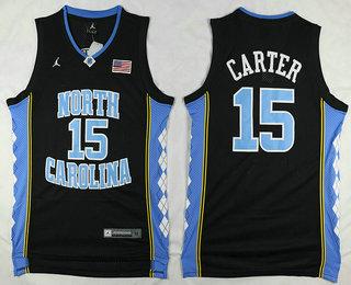 08295aa10204 Light Blue 2016 College Basketball Nike Jersey 21. Mens North Carolina Tar  Mens North Carolina Tar Heels 15 Vince Carter ...