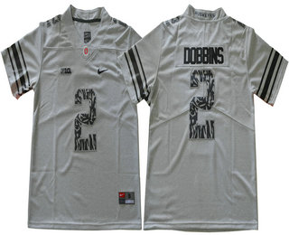... jersey  mens ohio state buckeyes 2 j. k. dobbins grey with camo number  limited college football stitched nike a5d28bade