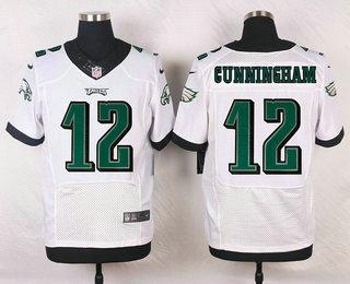 huge selection of 02858 05bc1 Men's Philadelphia Eagles #12 Randall Cunningham White ...
