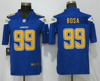 Men s Los Angeles Chargers  99 Joey Bosa Royal Blue 2017 Color Rush Stitched  NFL Nike Limited Jersey feef8c2e8
