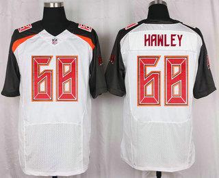 mens tampa bay buccaneers 68 joe hawley white road nfl nike elite jersey .