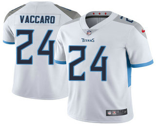 new concept d2f56 e2b9d Men's Tennessee Titans #24 Kenny Vaccaro Nike White New 2018 ...