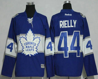 313ee8aed47 Men s Toronto Maple Leafs  44 Morgan Rielly Reebok Blue 2017 Centennial  Classic Premier Player Hockey Jersey