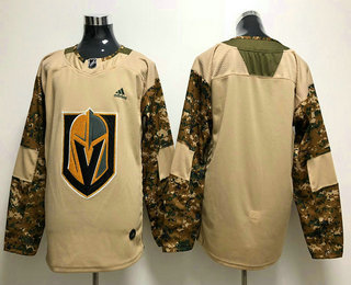 best sneakers 17a5d 5e56f Men's Vegas Golden Knights Blank Camo Authentic 2017 ...