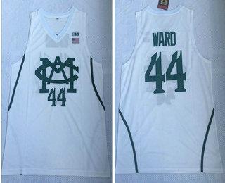 1075c44de58 Michigan State Spartans  44 Nick Ward White College Basketball Jersey