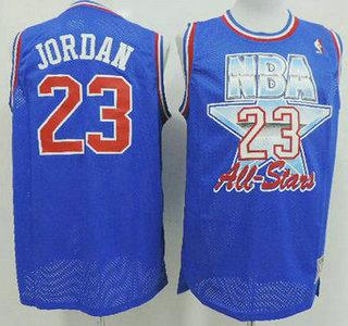 96ea3dcdc ... czech nba 1992 1993 all star 23 michael jordan blue swingman throwback  jersey acbcf 0a79a