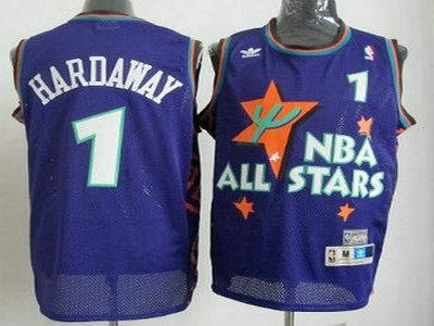 online store 533f5 8ec1a NBA 1995-1996 All-Star 1 Penny Hardaway Purple Swingman ...