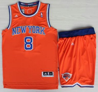 new york knicks 8 jr smith orange revolution 30 swingman jersey shorts suits
