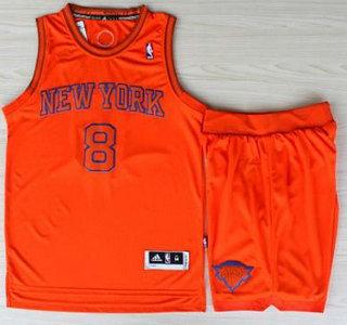 promo code e6a76 6d67d New York Knicks 8 JR Smith Orange Revolution 30 Swingman NBA ...