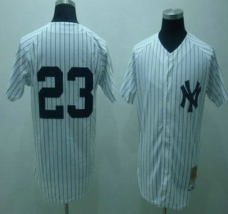 more photos 3c207 94a51 New York Yankees #23 Don Mattingly 1995 White Mitchell ...
