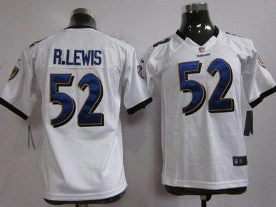 4cde64f1 Nike Baltimore Ravens 92 Haloti Ngata White Game Kids Jersey