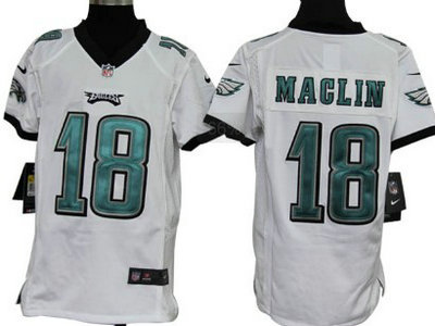 54398a8f4 Nike Philadelphia Eagles 18 Jeremy Maclin White Game Kids Jersey