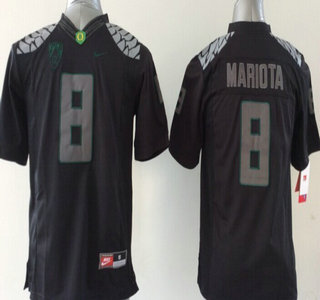 check out cd4ff ed5e8 oregon ducks 8 marcus mariota 2013 black limited jersey