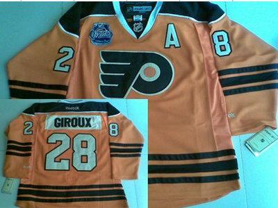 new products 7da44 f61b3 Philadelphia Flyers 28 Claude Giroux 2012 Winter Classic ...